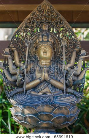 Kannon Bodhisattva - Lord of Compassion at Haseder Temple in kamakura