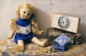 stock photo of doll  - Retro - JPG