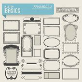 stock photo of scrollwork  - vector basics - JPG