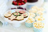 stock photo of cake stand  - Berries - JPG