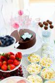 stock photo of fancy cake  - Berries - JPG