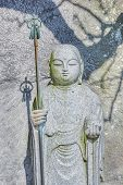 foto of kama  - Small Jizo Statues at Hase - JPG