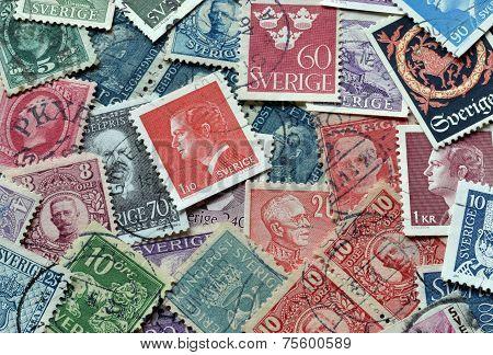 Sweden on stamps