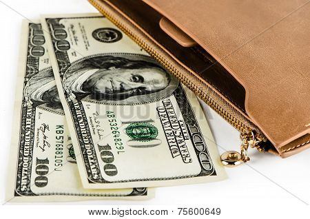 Dollars And Purse