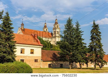 Church Of Saint Raphael In Vilnius, Lithuania