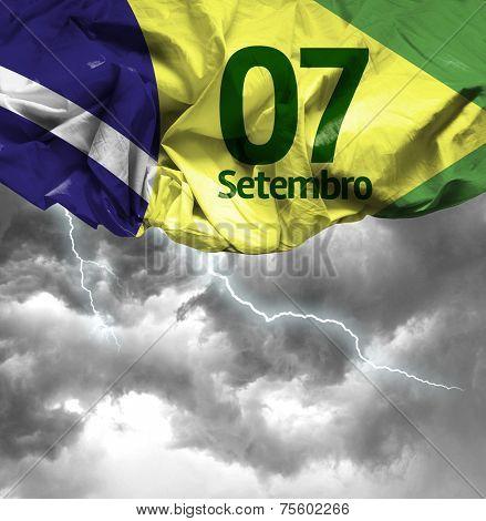 September, 7 Independence of Brazil - Dia 7 de Setembro, Independencia do Brasil on a bad day