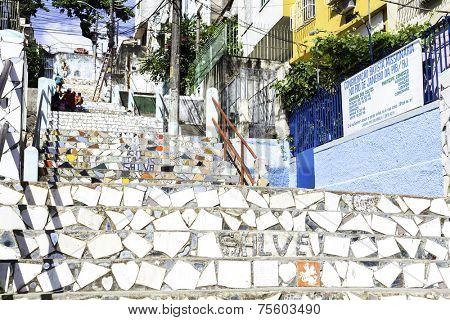 RIO DE JANEIRO, BRAZIL - CIRCA NOV 2013: Slum