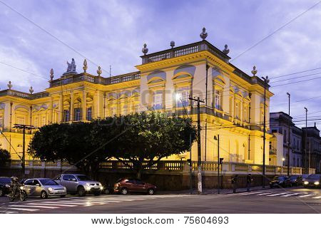 Palace of Justice in Manaus, Amazon, Brazil