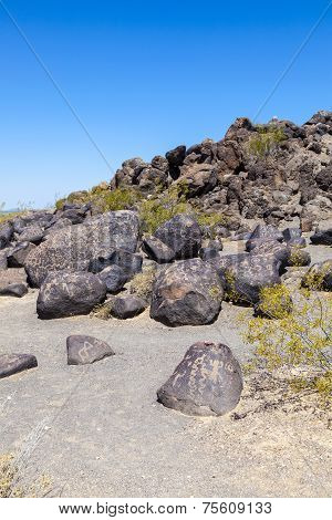 Petroglyph Site, Near Gila Bend, Arizona