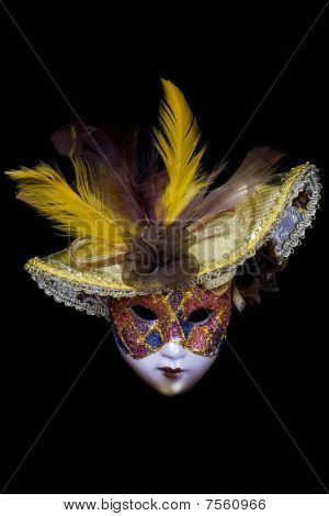 Mask On A Black Background