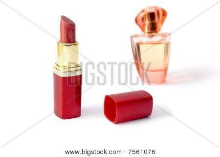 Lipstick And Aromatic Toilet Water