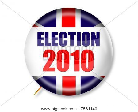 UK Election 2010 Button