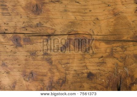 Old Wood Table Panel