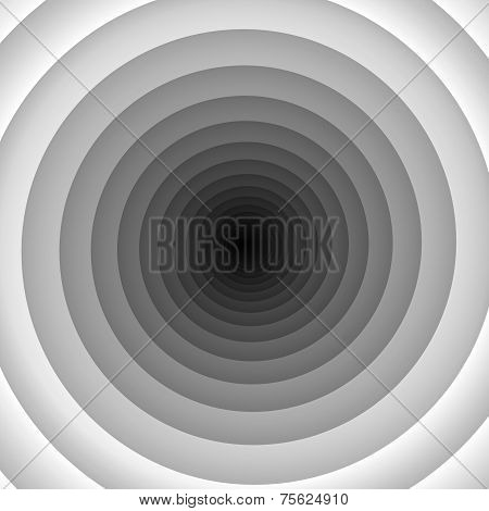 White tunnel swirl