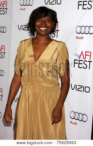 LOS ANGELES - NOV 6:  Jacqueline Lyanga at the AFI FEST 2014 Screening Of