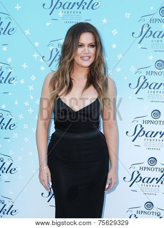 LOS ANGELES - NOV 3:  Khloe Kardashian at the HYPNOTIQ Sparkle Launch at the Mr. C on November 3, 2014 in Beverly Hills, CA