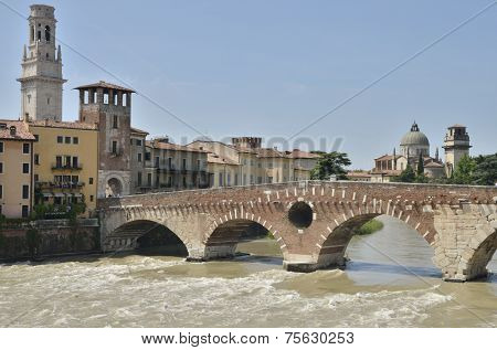 The Stone Bridge Of Verona
