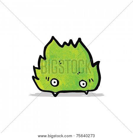 cartoon furry little monster
