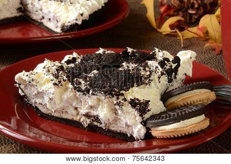 Cream Pie With Cookies