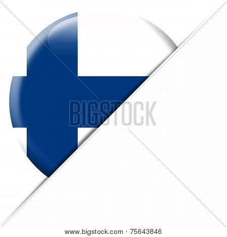 Finland Pocket Flag