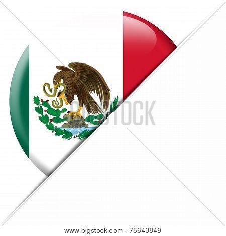 Mexico Pocket Flag