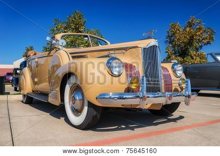 1941 Packard One Twenty Convertible Sedan Classic Car