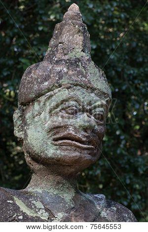 Ancient Lanna Statue (ancient Lanna Thai Style Temple), Thailand