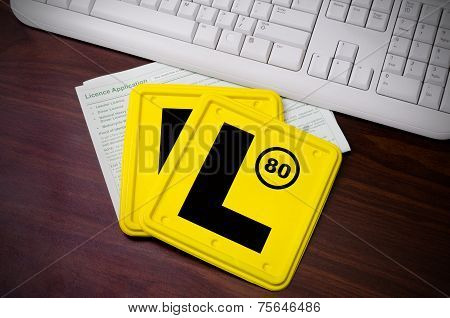 L Plates And Licence Application