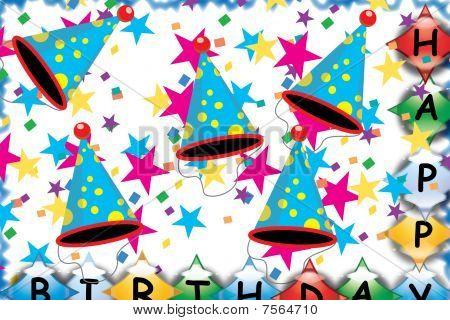 Happy Birthday Illustration