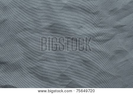 Crumpled Mesh Synthetic Fabric Of Silvery Color