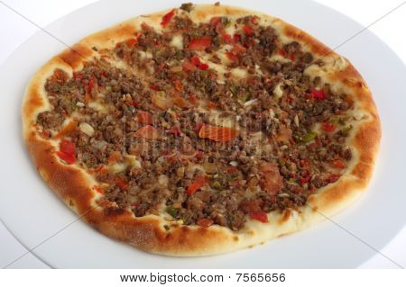 Fatayah With Meat Topping