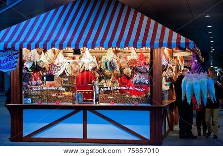 Christmas Fair In Berlin, Germany