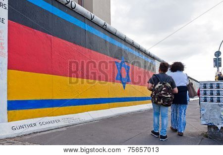 East Side Gallery In Berlin, Germany
