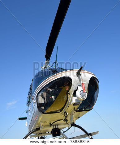 Helicopter From Below