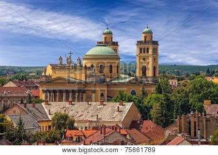 Basilica In Eger