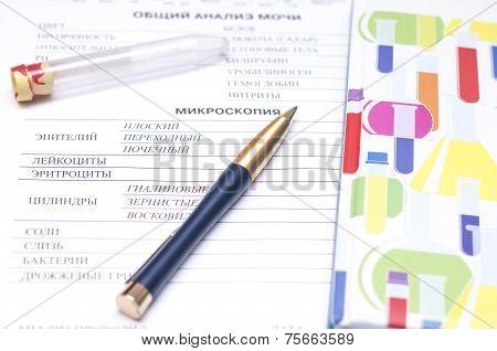 Medical Form Ordering Blood Test