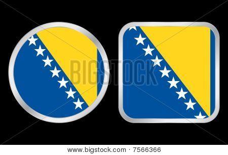Bosnia And Hercegovina Flag Icon