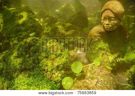 Japanese Woman Sculpture