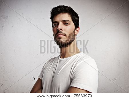 Portrait Of A Young Attractive Man