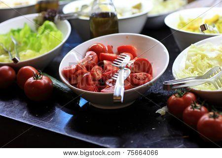 Slices Ot Tomatoes