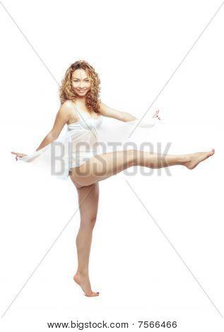 Dança em Peignoir