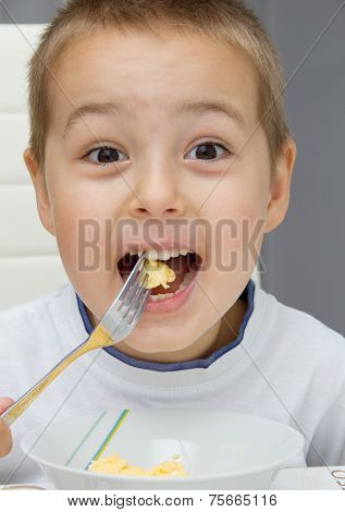 Child Eating