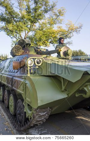 Infantry Fighting Vehicle Of The Serbian Armed Forces