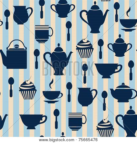 Teatime Background - Illustration