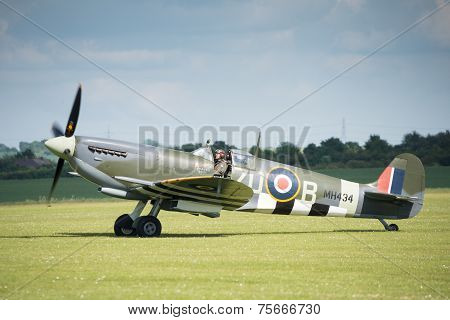 Vintage Spitfire Fighter Aircraft