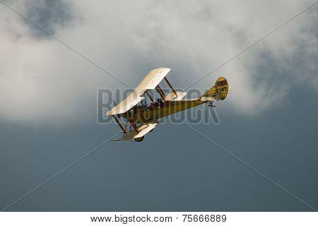 Vintage British Be2 Biplane