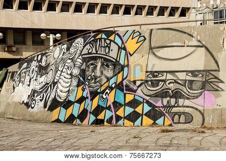 Street Graffiti Abandoned Building