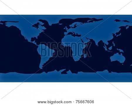 style earth map