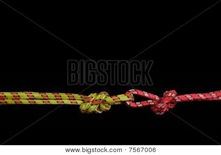 rope tied