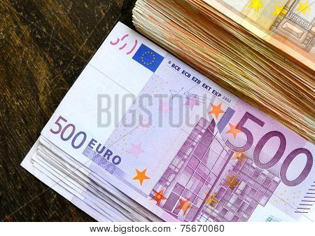 500 euros angled